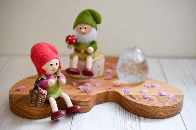 桜も、ヒマワリも!365日楽しめるスカンジナビスク・ヘムスロイドの北欧人形