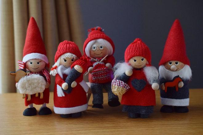 2018年もスカンジナビスク・ヘムスロイドから新しいクリスマス人形!