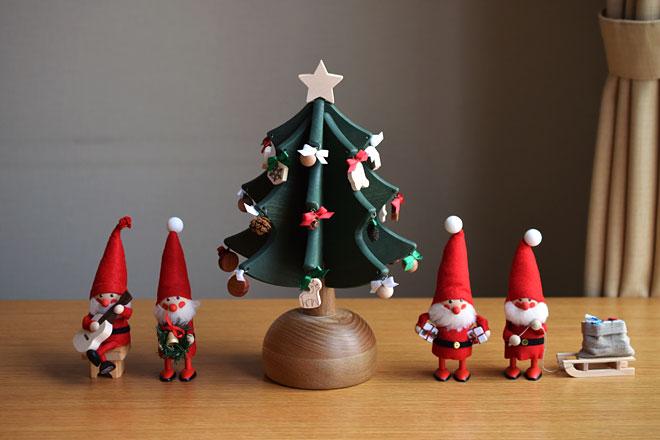 100%国産の、オルゴールクリスマスツリーが新登場しました。