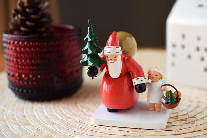 ドイツの高級ブランド「ヴェントアンドキューン」の、リッチなクリスマス人形