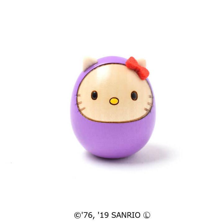 キティダルマ(豆)紫