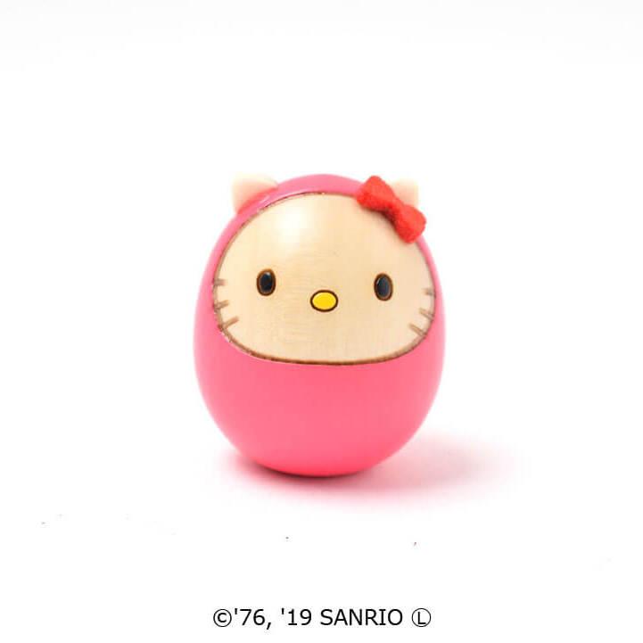 キティダルマ(豆)ピンク