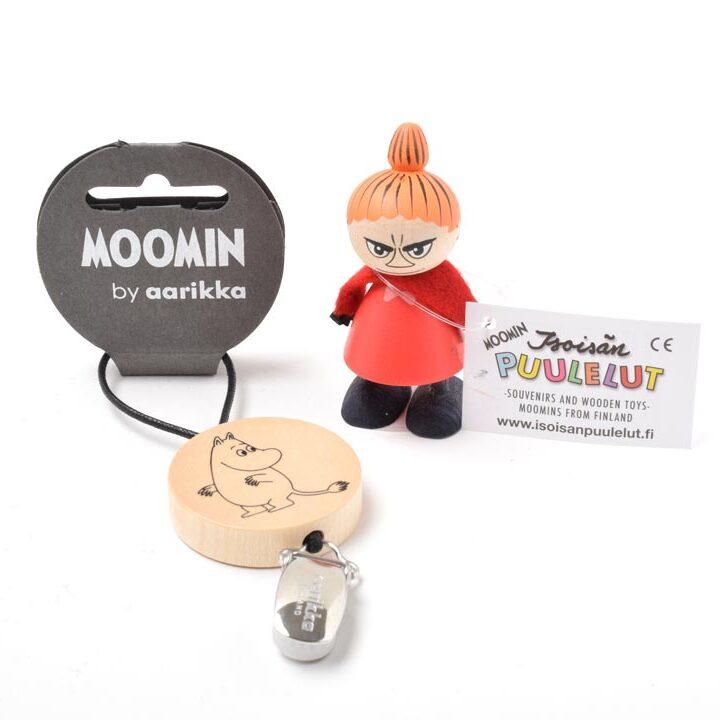 タオルクリップ&ミニ人形セット(ムーミン&リトルミイ)