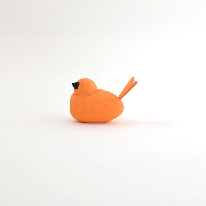 オブジェバードSmall/オレンジ