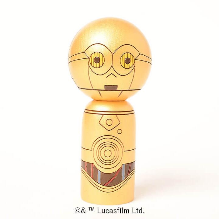 C-3PO こけし