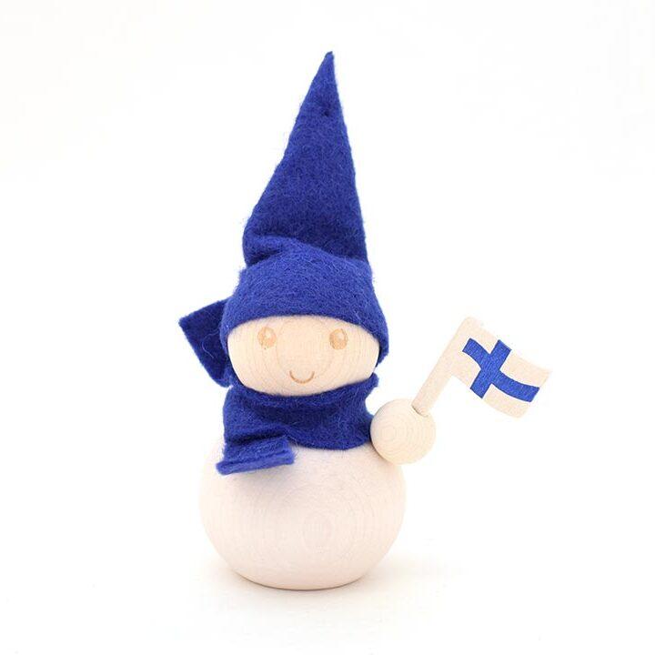 PAKKANEN フィンランドブルー 9cm