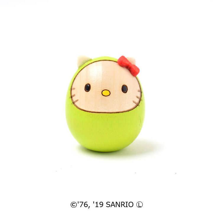 キティダルマ(豆)黄緑