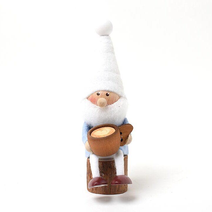 【予約販売10月下旬~11月上旬発送】ノルディカニッセ ククサを持ったサンタ 星に願いを