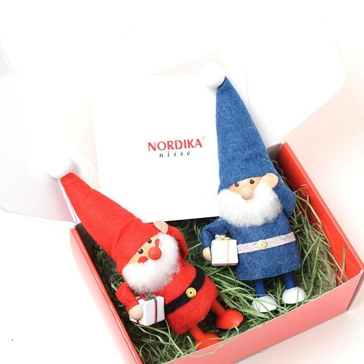 ノルディカニッセ 幸せを運ぶサンタ兄弟のセット