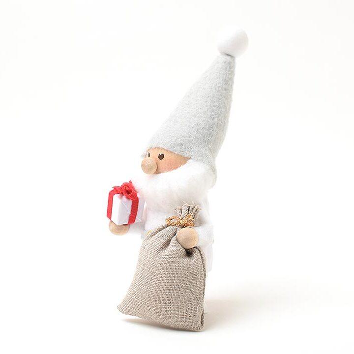 【予約販売10月下旬~11月上旬発送】<★te-nori限定>ノルディカニッセ てのりサンタ(赤いリボンのプレゼント)