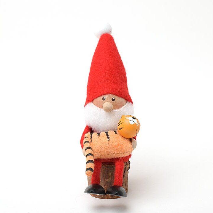 【予約販売10月下旬~11月上旬発送】ノルディカニッセ トラを抱えたサンタ