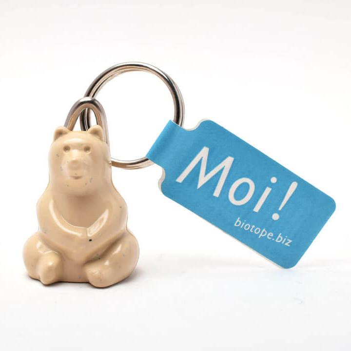シロクマキーホルダー(Polar Bear Key holder)