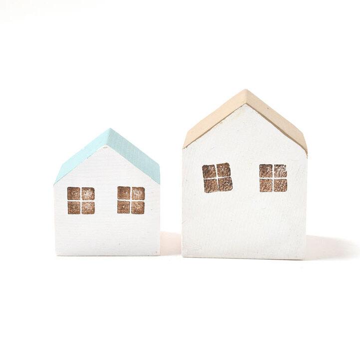 さんかく屋根の小さなおうちセット