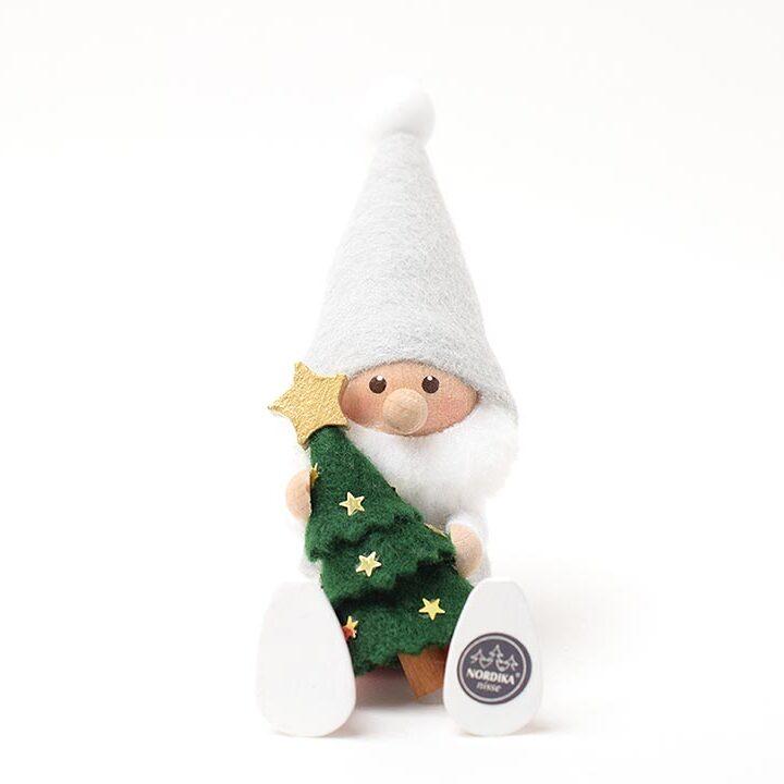 【予約販売10月下旬~11月上旬発送】<★te-nori限定>ノルディカニッセ 星のクリスマスツリーを抱えたサンタ