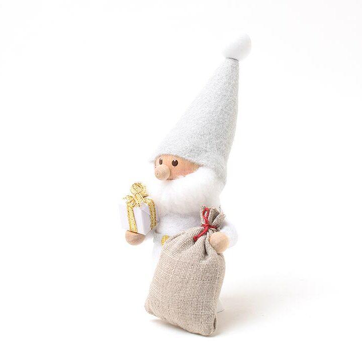 【予約販売10月下旬~11月上旬発送】<★te-nori限定>ノルディカニッセ てのりサンタ(ゴールドリボンのプレゼント)