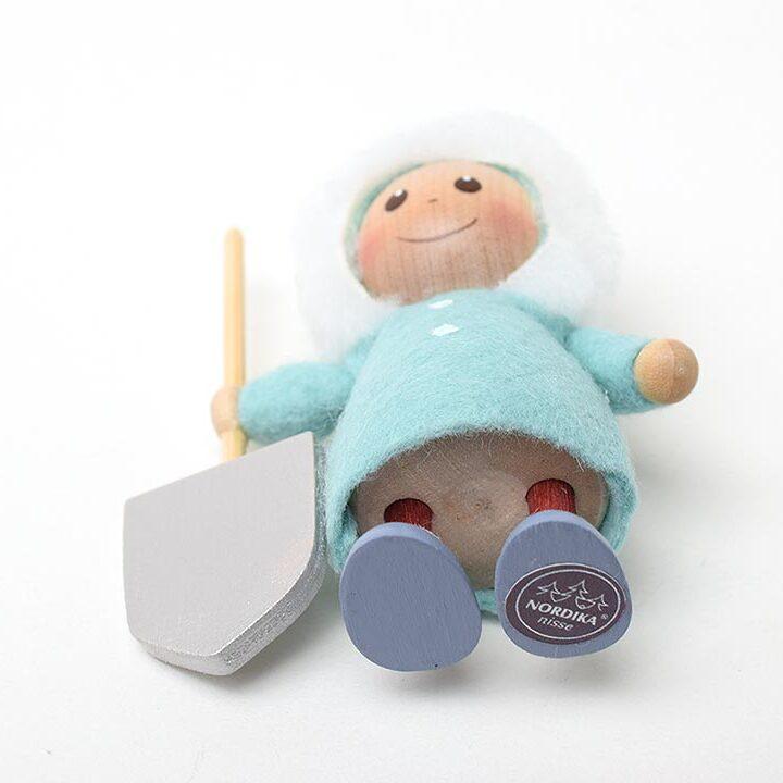 【予約販売10月下旬~11月上旬発送】ノルディカニッセ シャベルを持った男の子 星に願いを