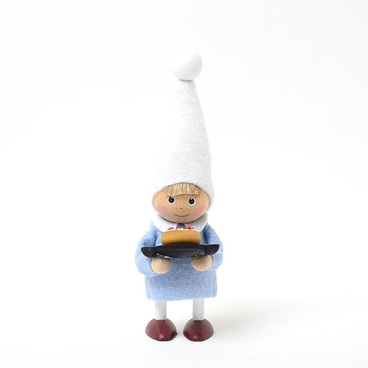 【予約販売10月下旬~11月上旬発送】ノルディカニッセ リースブレッドを持った男の子 星に願いを
