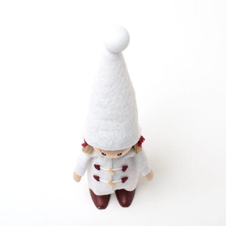 【予約販売10月下旬~11月上旬発送】ノルディカニッセ ダッフルコートを着た女の子 星に願いを